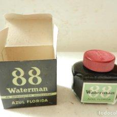 Escribanía: WATERMAN 88 TINTA DE ORIENTACIÓN MOLECULAR AZUL FLORIDA. Lote 150971333