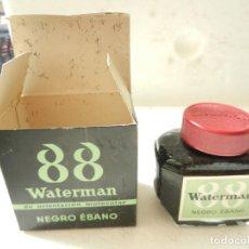 Escribanía: WATERMAN 88 TINTA DE ORIENTACIÓN MOLECULAR NEGRO ÉBANO. Lote 140920018