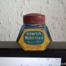 Escribanía: BOTE TINTA WATERMAN AZUL FIJA. Lote 141768318