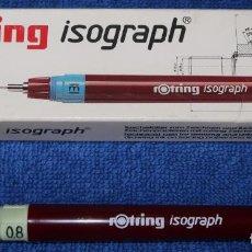 Escribanía: ROTRING 0.8 - ROTRING ¡NUNCA USADO!. Lote 142286486