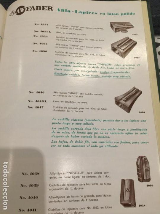 Escribanía: Sacapuntas(afilalápices) de Bronce- AW.FABER-**JANUS**4046----Años-20---Excelente estado-Colección - Foto 7 - 145341872