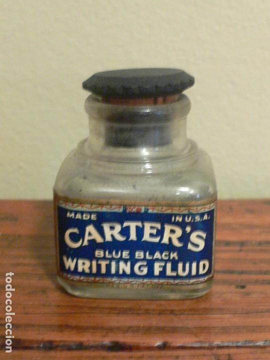 TINTERO CARTERS USA, AÑOS 20 (Plumas Estilográficas, Bolígrafos y Plumillas - Plumillas y Otros Elementos de Escribanía)