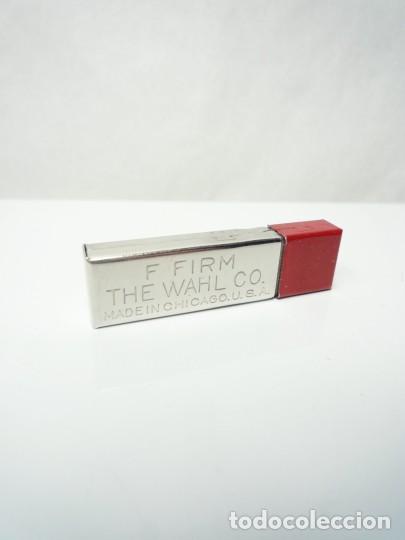 Escribanía: EVERSHARP, ANTIGUA CAJA DE ACERO CON 18 MINAS GRAFITO 1,18 MM RED TOP GRADO F. EE.UU 50S - Foto 3 - 223138498