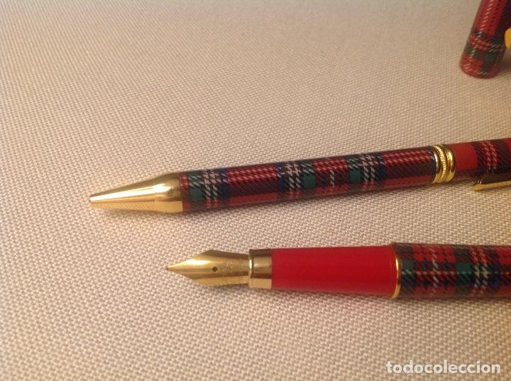 Escribanía: Boligrafo y pluma , - Foto 4 - 147626030