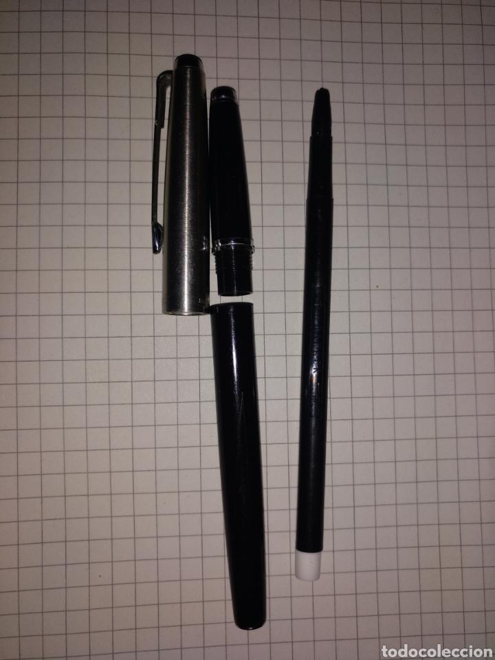 Escribanía: Rotulador parker made in spain, antiguo - Foto 5 - 147730488
