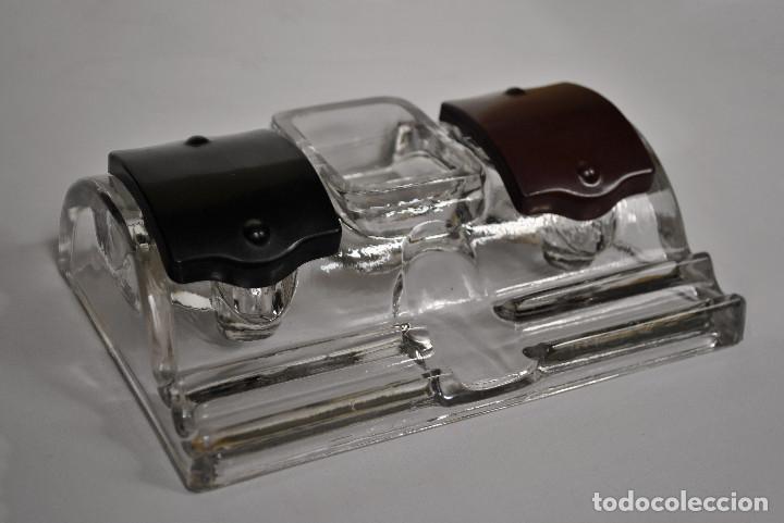 Escribanía: Escribanía Antigua Cristal - Foto 3 - 149252154