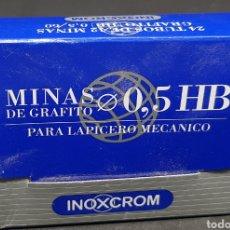 Escribanía: INOXCROM - CAJA DE 24 ESTUCHES DE MINAS - CAR01. Lote 150120034