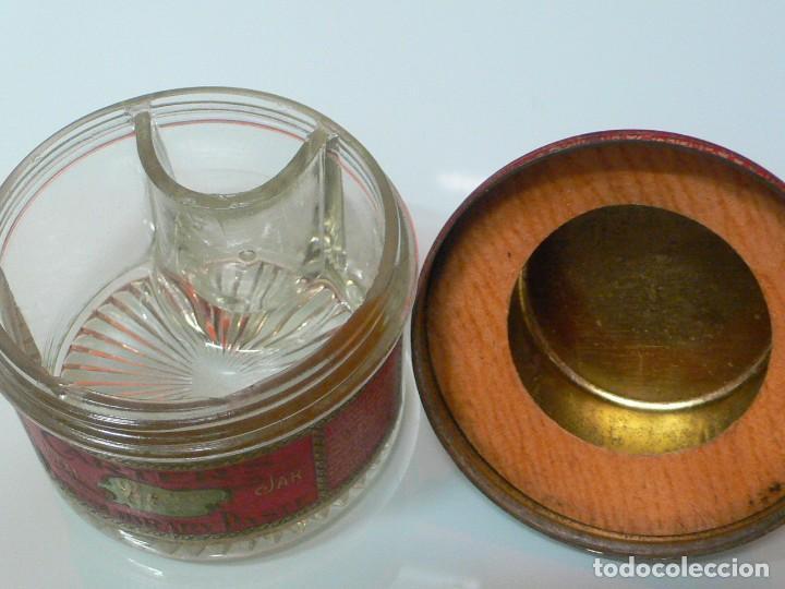 Escribanía: Tarro de cola Carters, Photolibrary paste jar, Pat, USA 1901 - Foto 4 - 150658498
