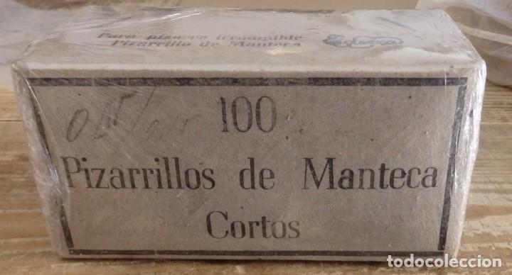 100 PIZARRILLOS DE MANTECA CORTOS. EN CAJA ORIGINAL (Plumas Estilográficas, Bolígrafos y Plumillas - Plumillas y Otros Elementos de Escribanía)