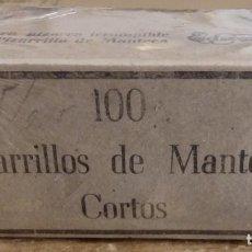 Escribanía: 100 PIZARRILLOS DE MANTECA CORTOS. EN CAJA ORIGINAL. Lote 150792330