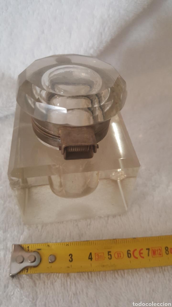 Escribanía: Tintero de cristal de roca - Foto 3 - 151201541