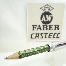 Escribanía: A.W. FABER EXCEPCIONAL ANTIGUO CONJUNTO DE EXTENSOR EN ALUMINIO CON LAPIZ ESPECIAL. GERMANY 40'S. Lote 152017350