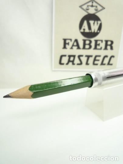 Escribanía: A.W. FABER EXCEPCIONAL ANTIGUO CONJUNTO DE EXTENSOR EN ALUMINIO CON LAPIZ ESPECIAL. GERMANY 40'S - Foto 3 - 152017350