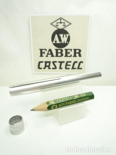 Escribanía: A.W. FABER EXCEPCIONAL ANTIGUO CONJUNTO DE EXTENSOR EN ALUMINIO CON LAPIZ ESPECIAL. GERMANY 40'S - Foto 5 - 152017350