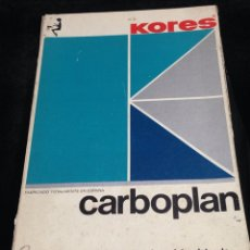 Scrivania: KORES,CARBOPLAN INTENSO.. Lote 152318969