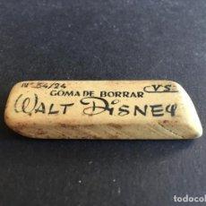 Escribanía: ANTIGUA GOMA DE BORRAR DE WALT DISNEY, CON ILUSTRACIÓN, N 34/24. Lote 159179744