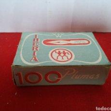 Escribanía: PLUMAS IBERIA RECAMBIOS PARA PLUMIN NÚMERO 341 CONTIENE 94 PLUMINES. Lote 154831453