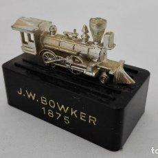 Escribanía: SACAPUNTAS J.W. BOWKER 1875. Lote 155693646