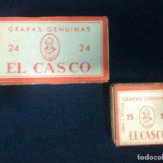 Escribanía: DOS CAJAS DE GRAPAS EL CASO 24 Y 25. Lote 156075074