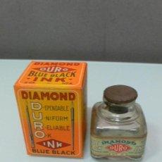 Escribanía: TINTERO DIAMOND CON SU CAJA ORIGINAL MILWAUKEE, USA, AÑOS 20. Lote 156274926