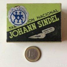 Escribanía: JOHANN SINDEL CAJA CON PLUMMILLAS REF Nº1022 CON PRECINTO. Lote 158155726