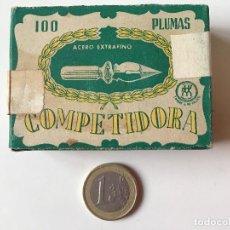 Escribanía: COMPETIDORA CAJA DE PLUMILLAS REF Nº 702 PRECINTADA. Lote 158173086
