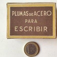 Escribanía: CAJA DE PLUMILLAS REF Nº 536 SIN ESTRENAR. Lote 158202694