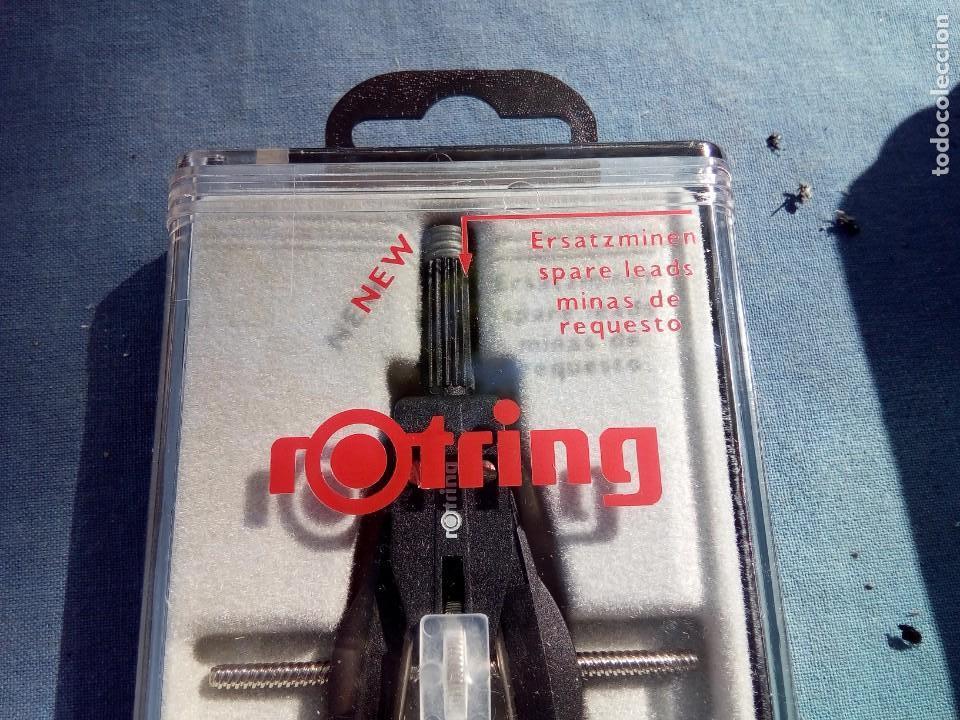 Escribanía: COMPÁS ROTRING VINTAGE EN CAJA ORIGINAL - Foto 2 - 171603773