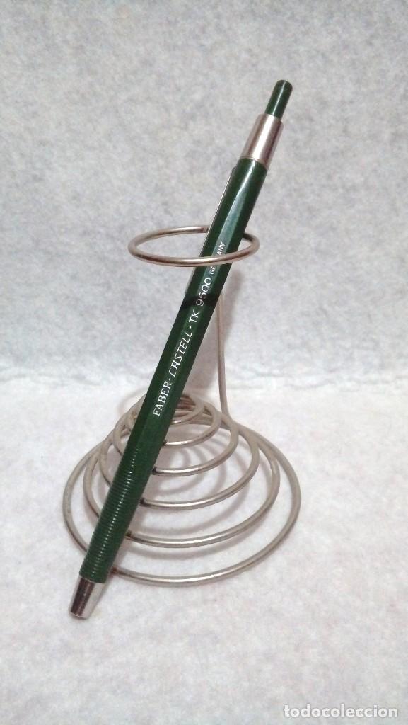 PORTAMINAS/LAPICERA * FABER CASTELL - TK 9500 GERMANY * ... SIN MINA. (Plumas Estilográficas, Bolígrafos y Plumillas - Plumillas y Otros Elementos de Escribanía)