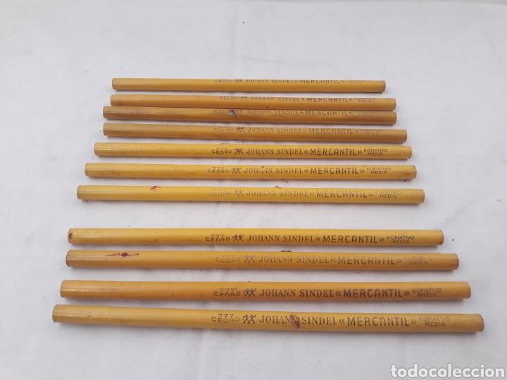 LAPICES JOHANN SINDEL CEDRO 777 MERCANTIL KOPIATO MEDIO. (Plumas Estilográficas, Bolígrafos y Plumillas - Plumillas y Otros Elementos de Escribanía)