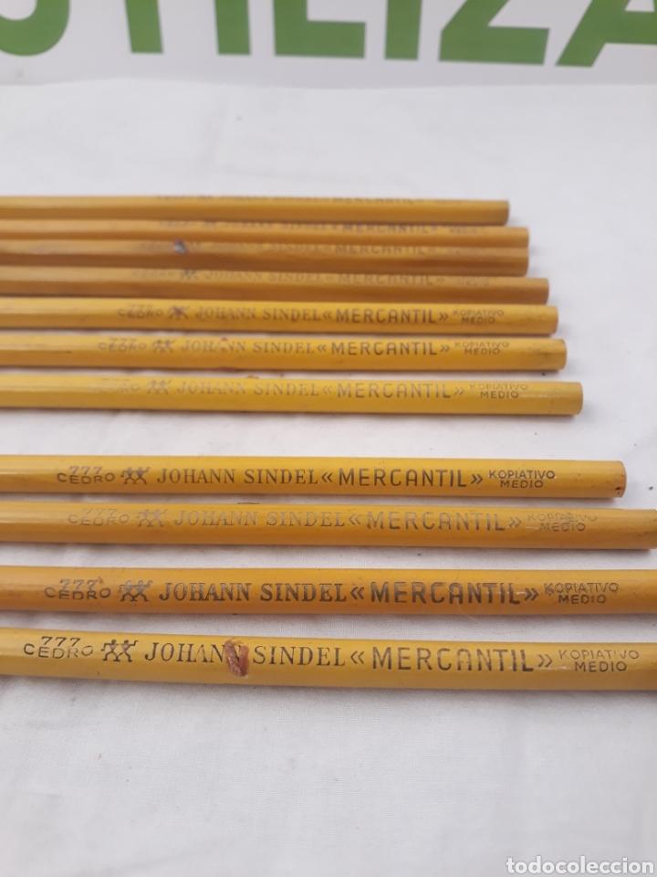 Escribanía: Lapices Johann Sindel cedro 777 Mercantil kopiato medio. - Foto 2 - 186396338