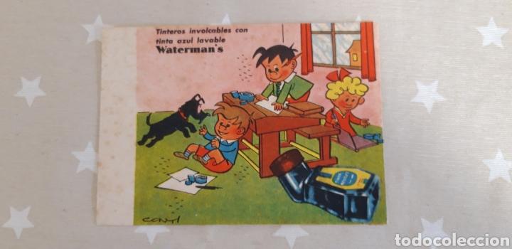 PAPEL SECANTE PUBLICIDAD WATERMAN'S (Plumas Estilográficas, Bolígrafos y Plumillas - Plumillas y Otros Elementos de Escribanía)