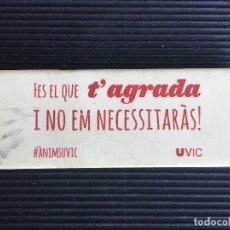 Escribanía: GRAN GOMA DE BORRAR UNIVERSIDAD DE VIC, UVIC.. Lote 161345482