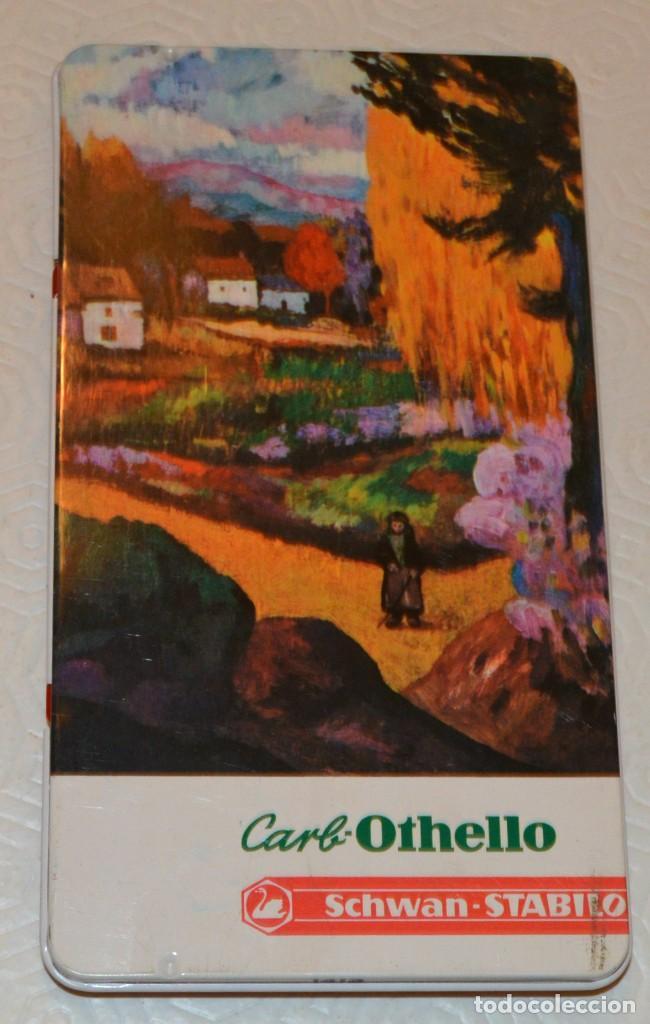 CAJA OTHELLO - SCHWAN STABILO - 12 LAPICES MADERA COLOR - VAN GOGH (Plumas Estilográficas, Bolígrafos y Plumillas - Plumillas y Otros Elementos de Escribanía)