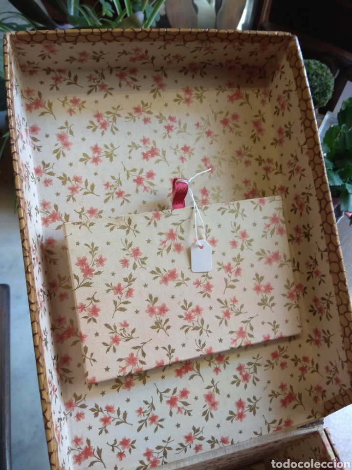 Escribanía: Caja Cartas - Caja Tarjetero - Escritorio - Francesa La Merveilleuse - - Foto 4 - 161843046