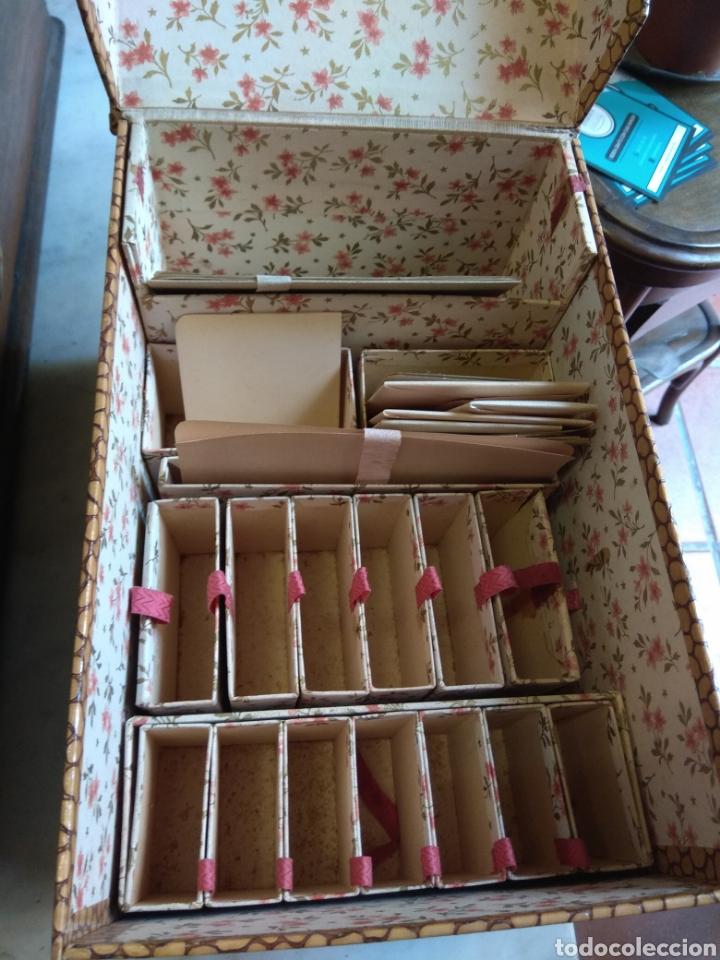 Escribanía: Caja Cartas - Caja Tarjetero - Escritorio - Francesa La Merveilleuse - - Foto 5 - 161843046