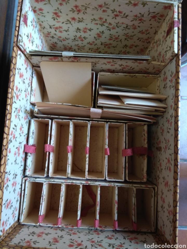 Escribanía: Caja Cartas - Caja Tarjetero - Escritorio - Francesa La Merveilleuse - - Foto 6 - 161843046