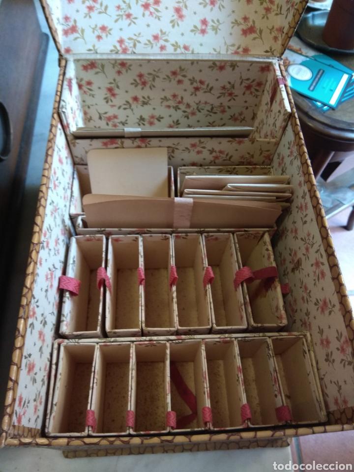 Escribanía: Caja Cartas - Caja Tarjetero - Escritorio - Francesa La Merveilleuse - - Foto 7 - 161843046