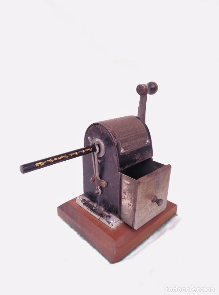 SACAPUNTAS WIZARA,DATADO EN 1906 (Plumas Estilográficas, Bolígrafos y Plumillas - Plumillas y Otros Elementos de Escribanía)