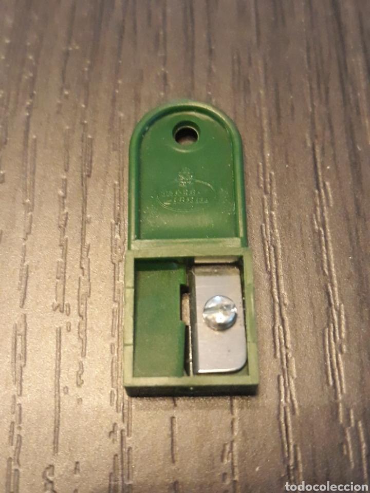 Escribanía: Caja antiguos Afilaminas FABER CASTELL - Foto 2 - 163306372
