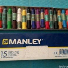 Escribanía: MANLEY COLORES A LA CERA CON POCO USO. Lote 164925966