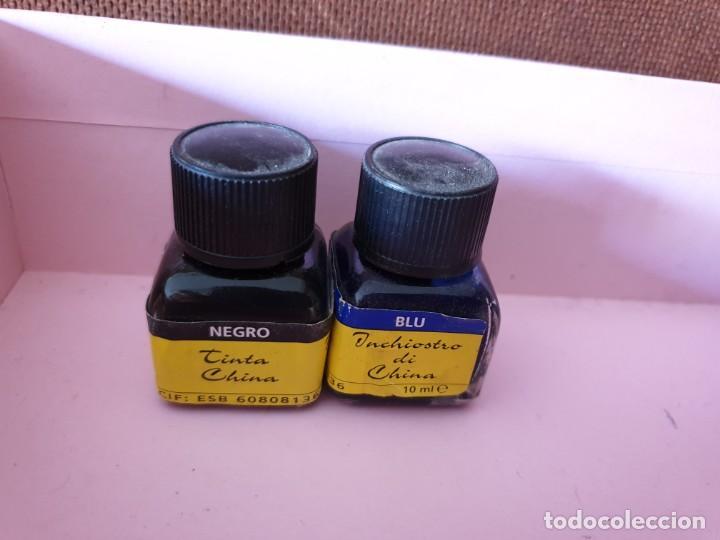 Escribanía: Lote 12 envases (tinta Pelikan, parkar, staedtler, Jeep gum) - Foto 5 - 166086938