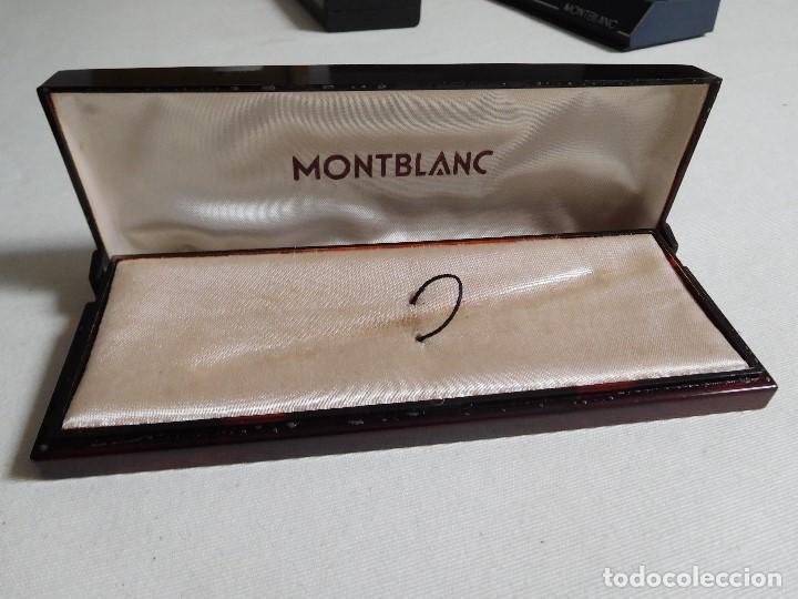 Escribanía: Caja original pluma estilográfica Montblanc - Foto 5 - 166626198