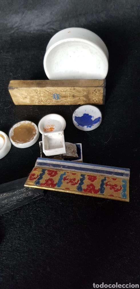 COLECCION ESCRITURA CHINA Y LACRES (Plumas Estilográficas, Bolígrafos y Plumillas - Plumillas y Otros Elementos de Escribanía)