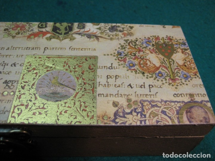 Escribanía: ESTUCHE LACRE ANILLOS DE ENLACE, SELLO LACRE, CALIGRAFÍA ESCRITURA - Foto 4 - 167957262