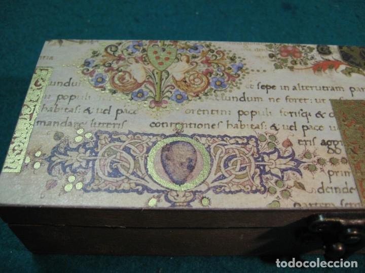 Escribanía: ESTUCHE LACRE ANILLOS DE ENLACE, SELLO LACRE, CALIGRAFÍA ESCRITURA - Foto 3 - 167957262