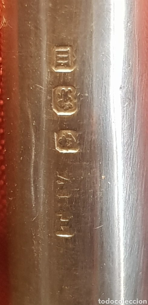Escribanía: Porta lapiz en plata de ley - Foto 5 - 168866524