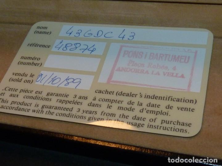 Escribanía: ELEGANTE PORTAMINAS DUPONT PLATA 925 LAPICERO CLIP LACADO PARIS GRABADO GARANTIA 1989 - Foto 14 - 169140596