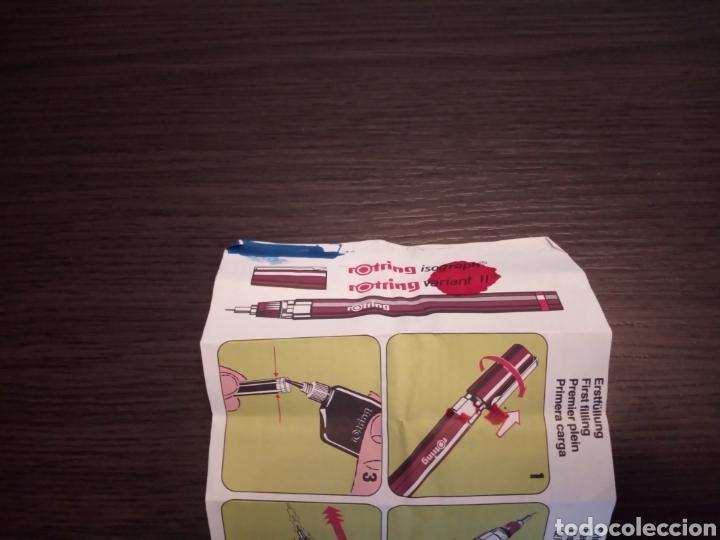 Escribanía: Lote Estilografos ROTRING ISOGRAPH - Foto 7 - 169427493