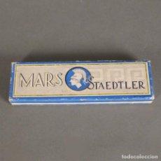 Escribanía: ANTIGUA CAJA DE LAPICES DE MARS STAEDTLER. 1940 - 1950.. Lote 169565648